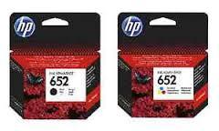סט 2 ראשי דיו מקורי (שחור 1 + צבע 1) HP 652