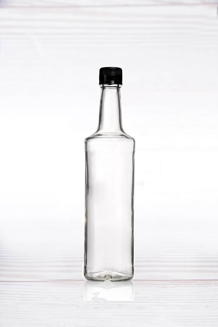 """30 בקבוקי זכוכית עגולים 700 מ""""ל"""