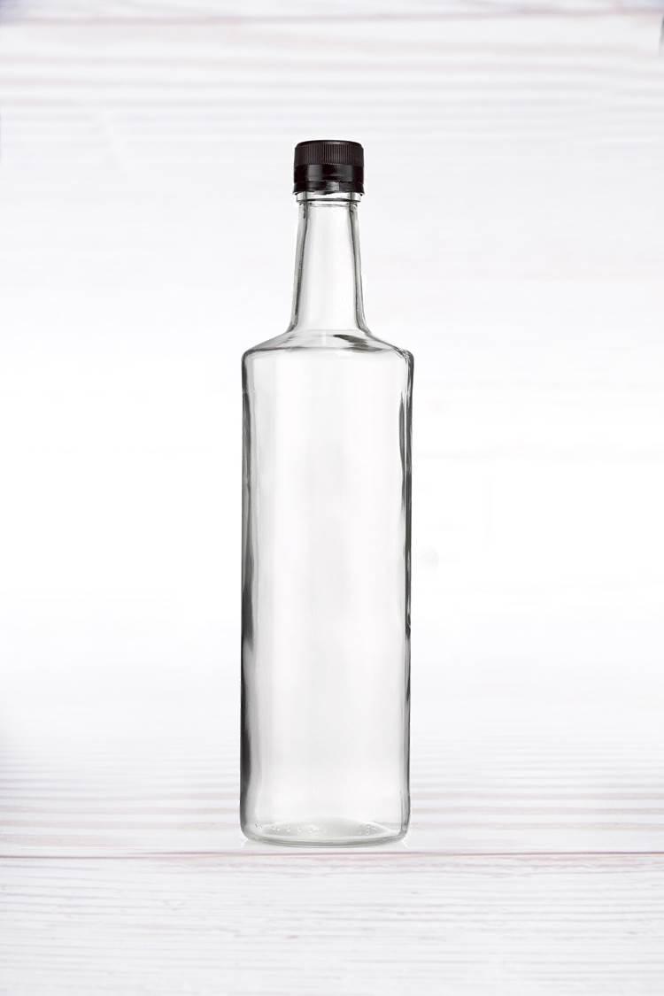 24 בקבוקי זכוכית עגולים 1 ליטר