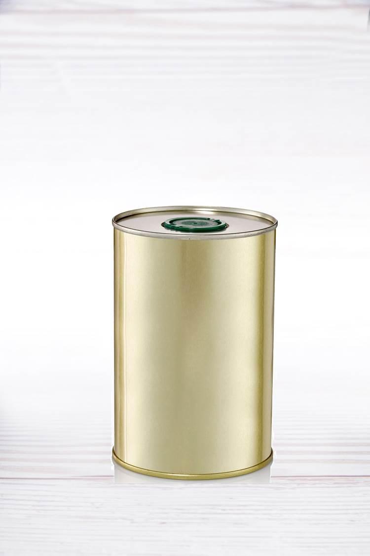 26 פחים עגולים 1 ליטר לשמן זית