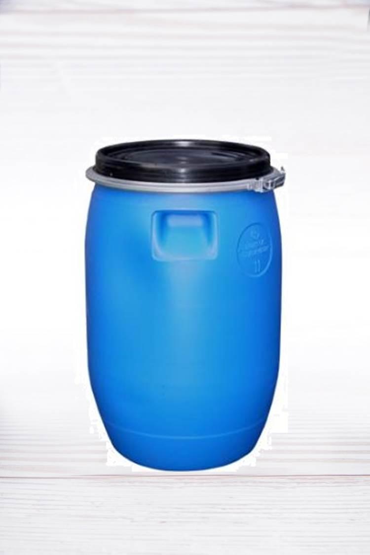 חבית פלסטיק 120 ליטר + מכסה והברגה
