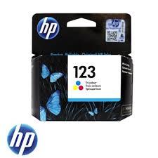 ראש דיו צבעוני HP 123