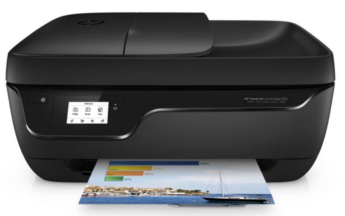 מדפסת הזרקת דיו HP DeskJet 3835 F5R96C