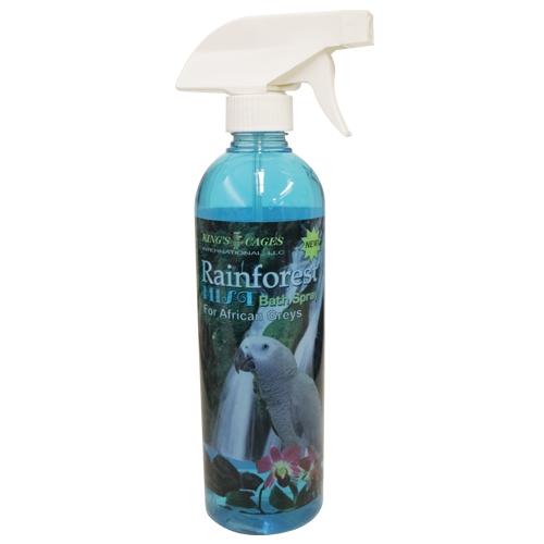 Rainforest Mist Bath Spray African Grey Amazon