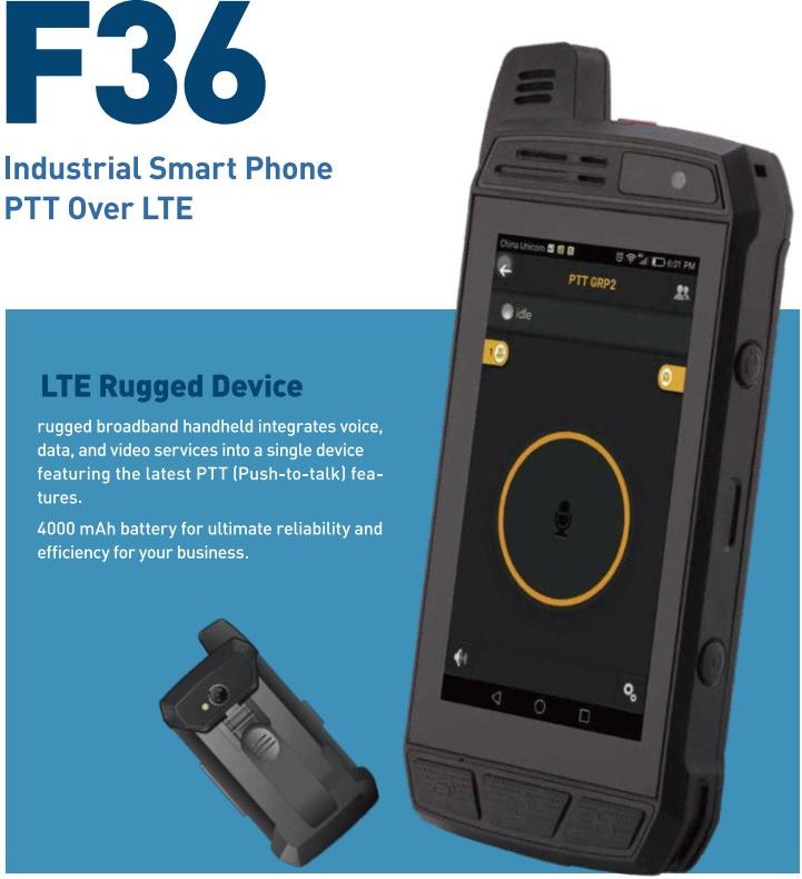 סמארטפון מוקשח  PTT-F36  32 GB