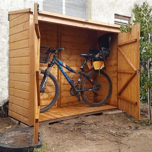 מחסן אופניים 182/82 גובה 164 אופניים 63