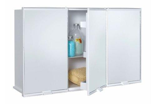 ארון אמבטיה עם מראה כלנית כתר פלסטיק