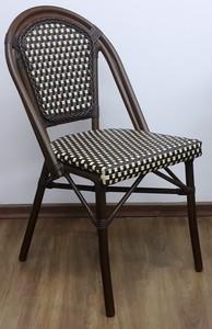כיסא ראטן דגם שוקולד