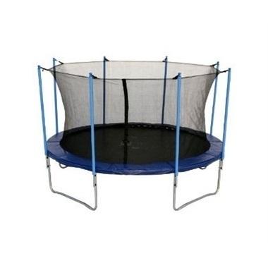 טרמפולינה לחצר 1.8 מ´ 6 פיט JUMPING עם רשת הגנה פנימית