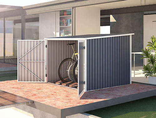 מחסן אופניים 1.42X1.98 Garden Top