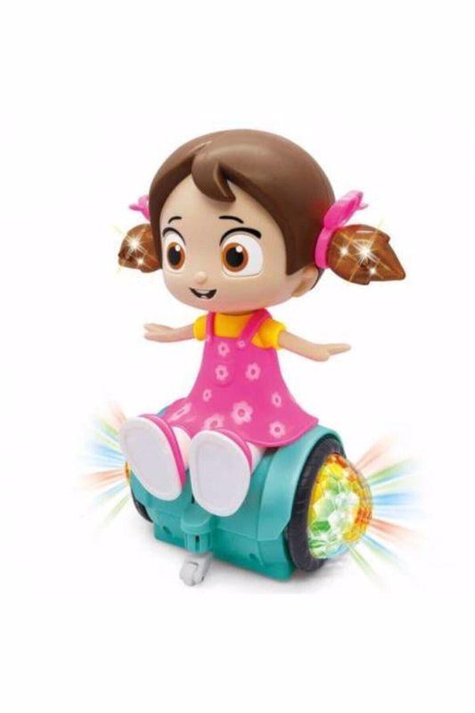 בובה מרקדת על הוברבורד