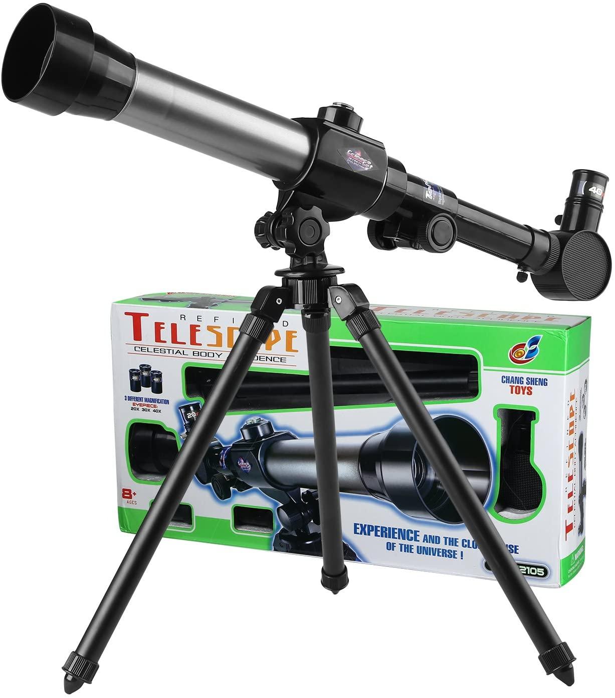 טלסקופ חצובה ומצפן