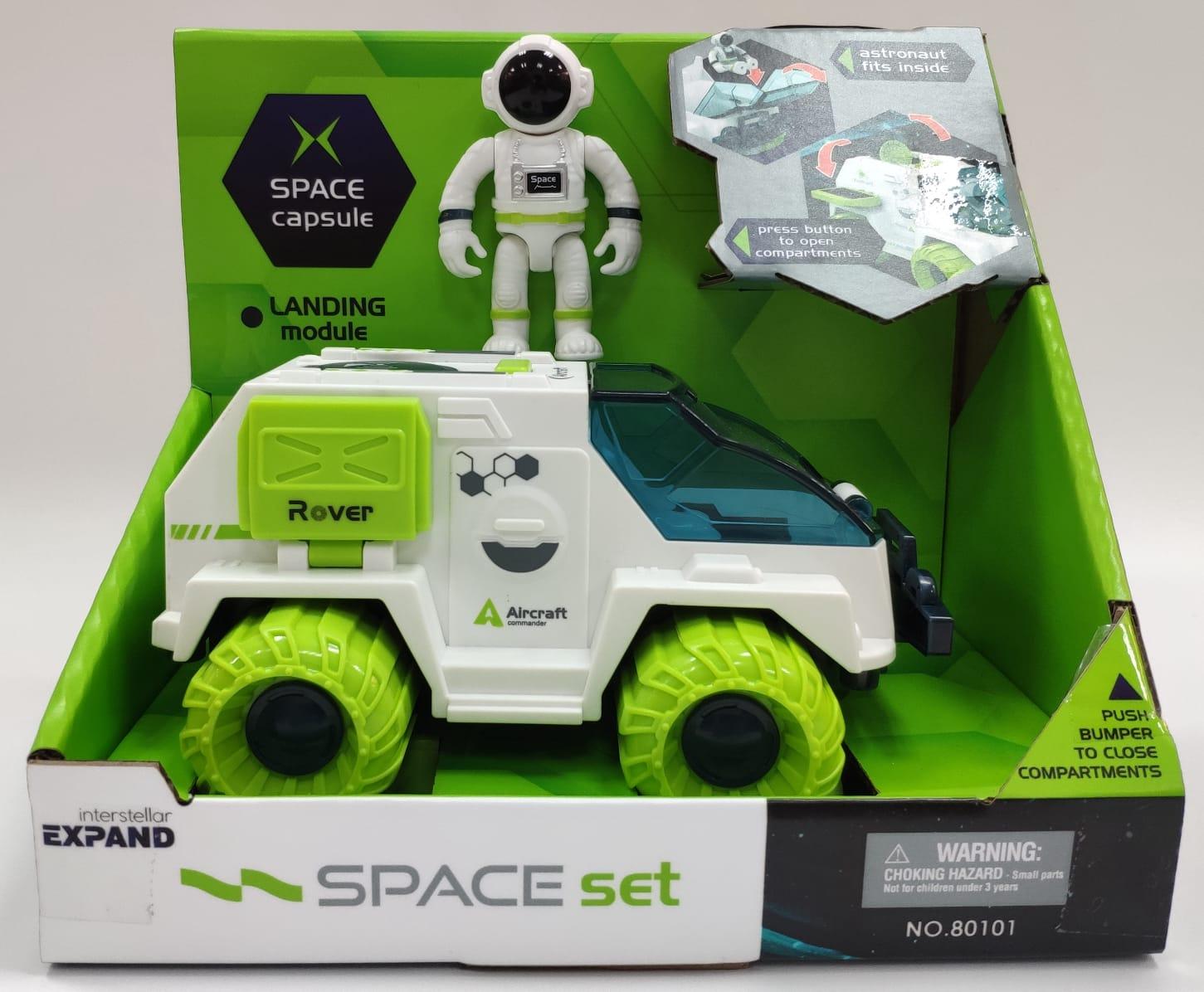 סט רכב חלל+ אסטרונאוט