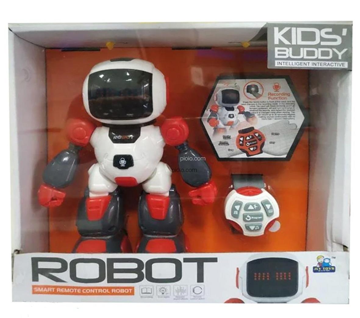 רובוט פעלולים בשלט רחוק מופעל באמצעות שעון