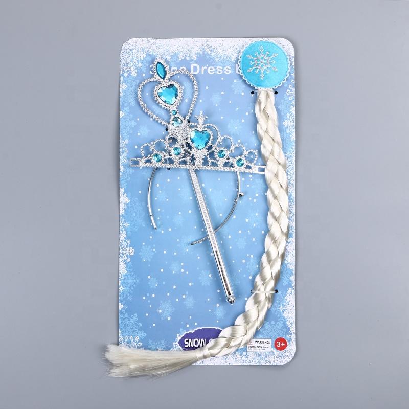 כתר שרביט וצמה של נסיכת הקרח