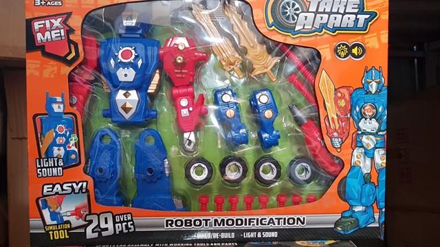 משחק הרכבה רובוט