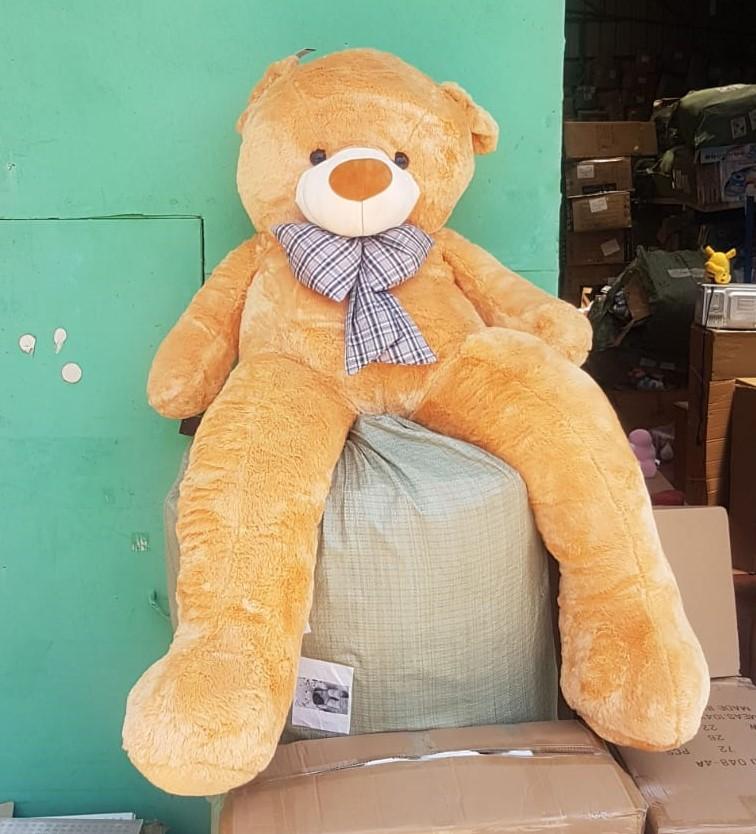 דובי חום 2 מטר  מהמם לטו באב!! 10 קילו