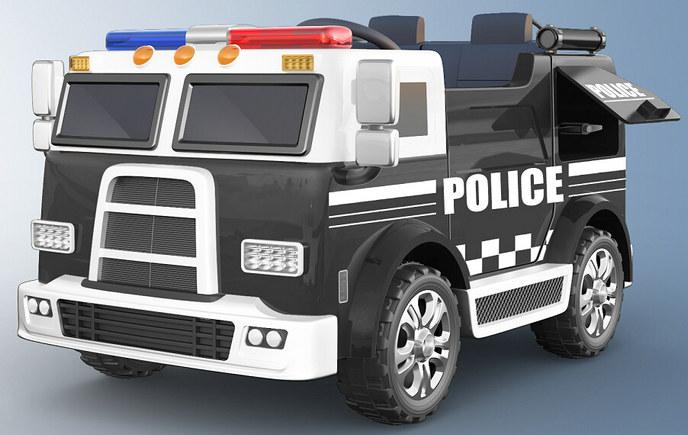 רכב משטרה ענק,מושבים כפולים