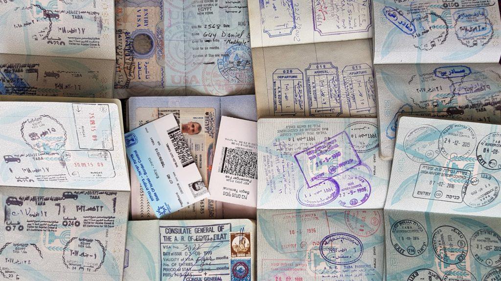 Entry visa to Israel