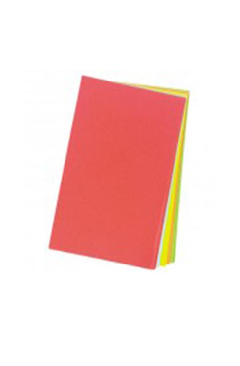 חבילת נייר צבעוני 100 יחידות גודל A4
