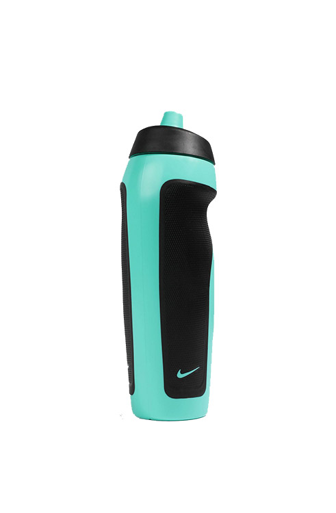 בקבוק שתייה לחיץ נייק NIKE בצבע מנטה ושחור