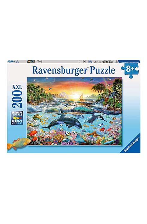 פאזל 200 חלקים גן עדן מתחת למים