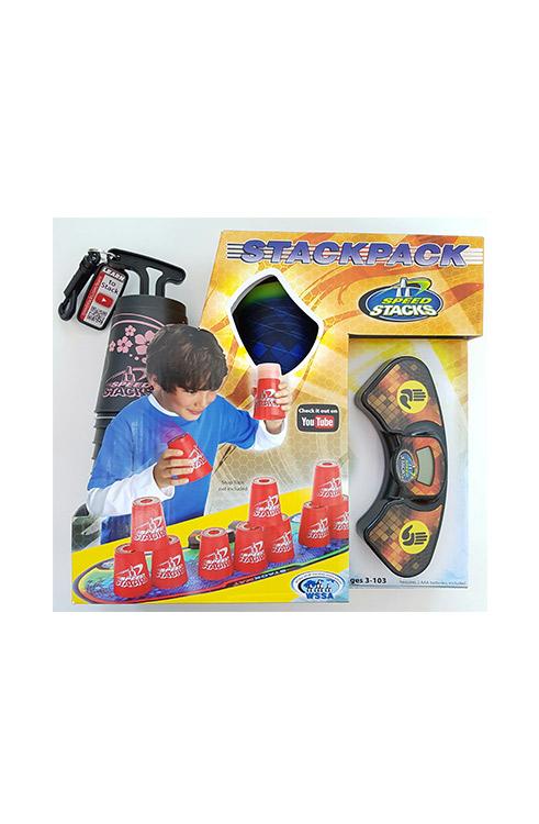 ספיד סטאקס SPEED STACKS חבילה גדולה (כוסות שחור ורוד)