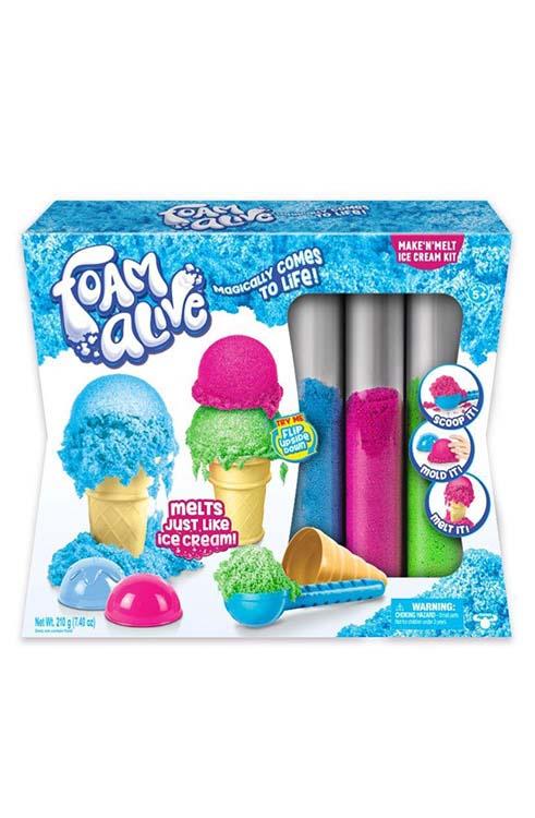 חול הקסם - ערכת גלידות