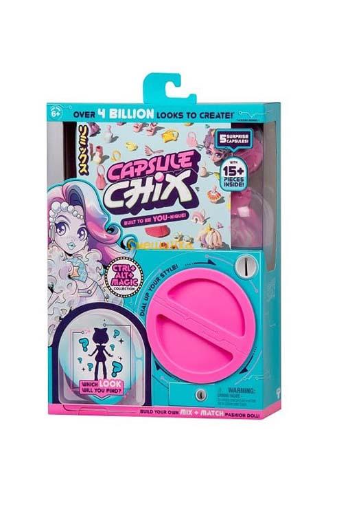בובת אופנה CAPSULE CHIX