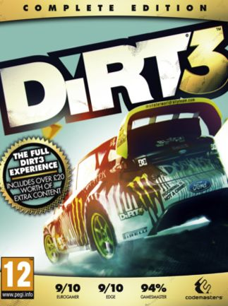 DiRT 3 Complete Edition pc  Key GLOBAL