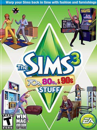 The Sims 3 70s, 80s,  Key GLOBAL