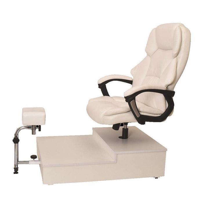 כסא פדיקור מנהלים + במה  KP04