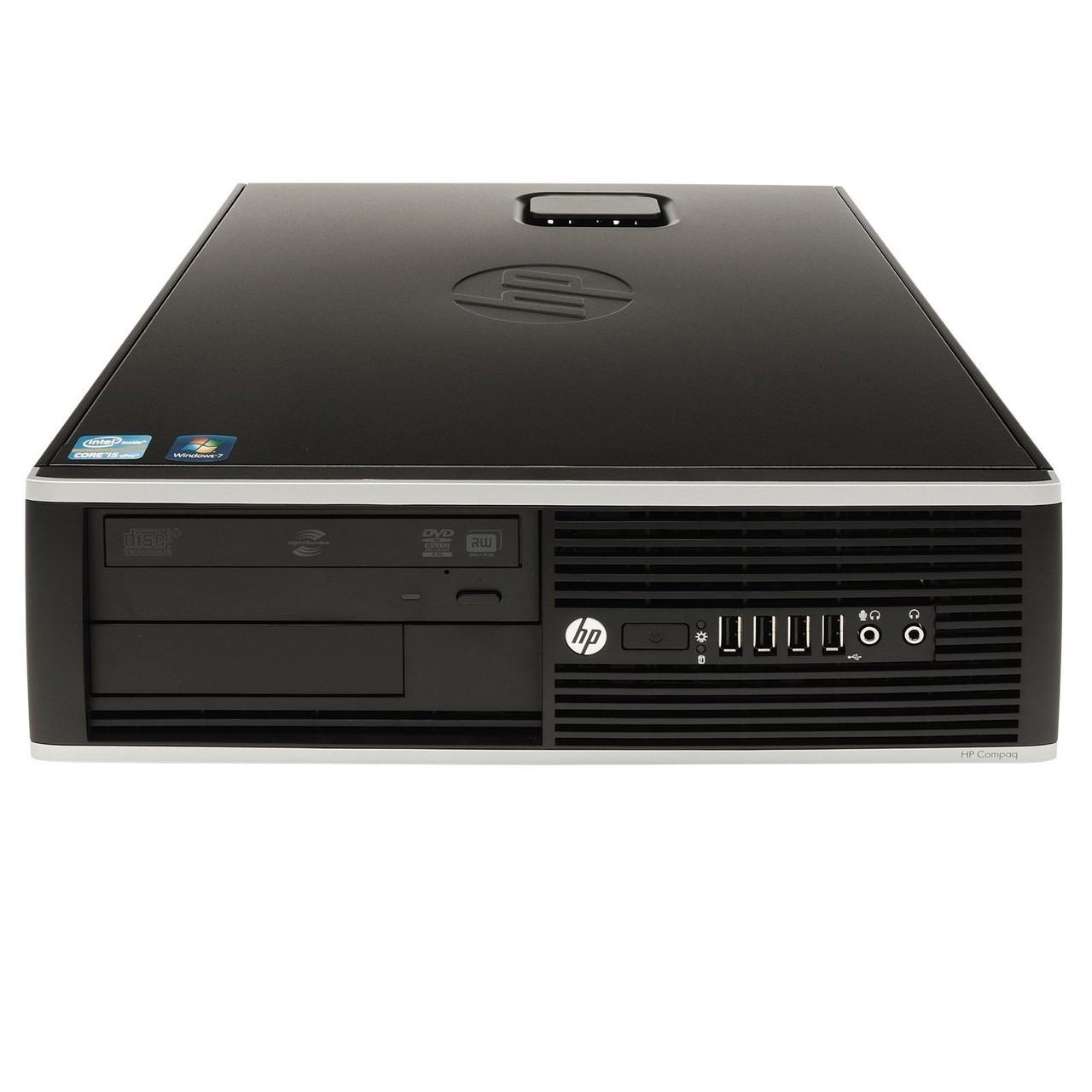 8100 ELITE I5 DESKTOP HP מחשב נייח מעבד I5 זיכרון 4GB דיסק קשיח 500GB ומערכת הפעלה WIN 7 **מחודש**