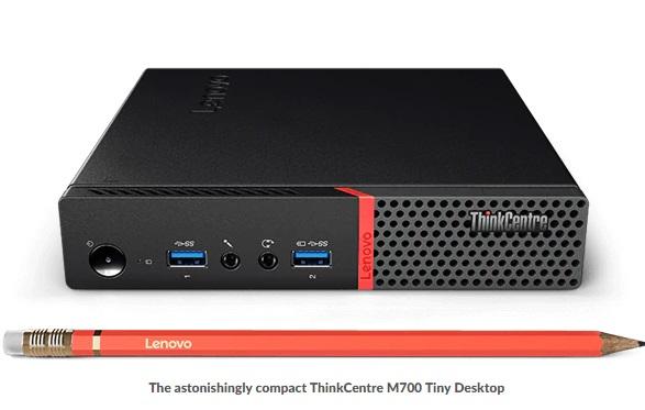 מחשב נייח TYNI -I5 מבית LENOVO דגם מעבד i5 מ.הפעלה Win 10 Pro ** מחודש**