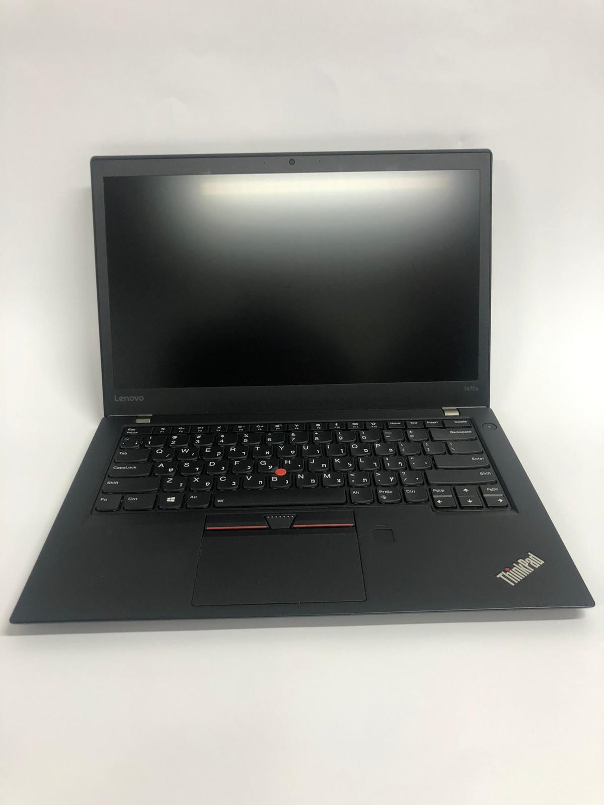 T470s i7-6600U/8GB/256M2/FHD/F/C/W10P Lenovo ThinkPad מחשב נייד
