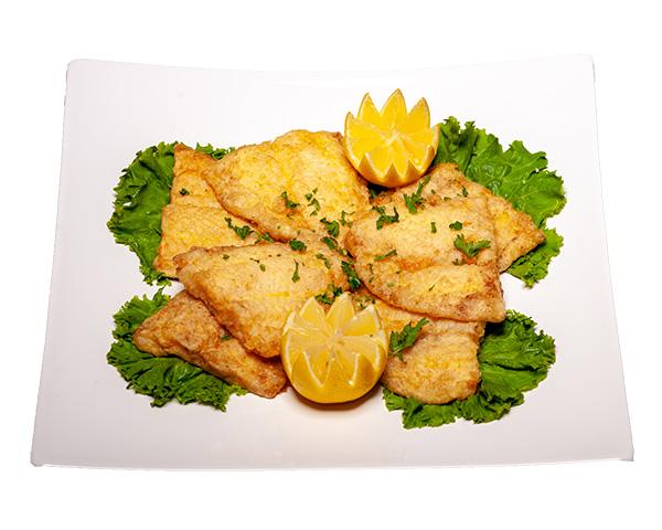 Greek Cod or Chicken Souvlaki
