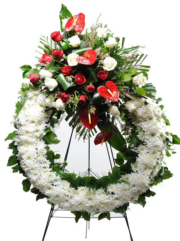 Standing Sympathy Wreath